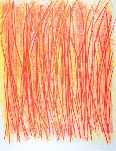 Günther Uecker, 'Steppenbrand', 2000
