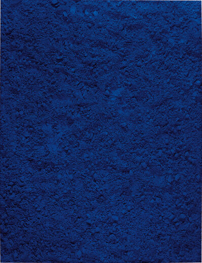 Vik Muniz, 'Untitled Blue, after Yves Klein (Pictures of Pigment)', 2006