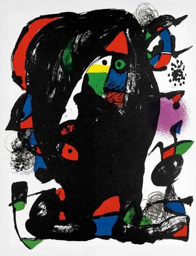 Joan Miró, 'Untitled (Lithographe IV, M.1259)', 1981