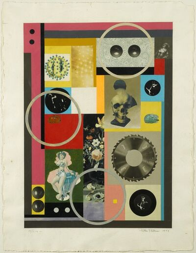 Peter Phillips, 'Collage Patchwork,', 1993
