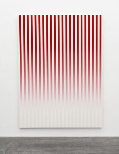 Philippe Decrauzat, 'Slow Motion Red # 1', 2019