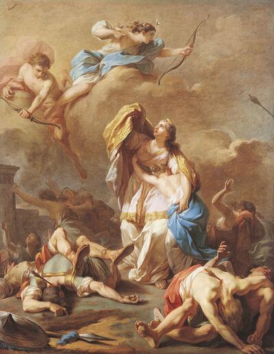 Pierre-Charles Jombert, 'Apollo and Diana Killing the Children of Niobe', 1772