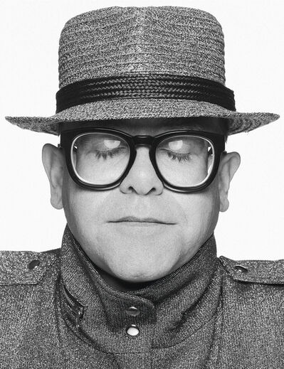Terry O'Neill, 'Elton John with his eyes closed', 1990s