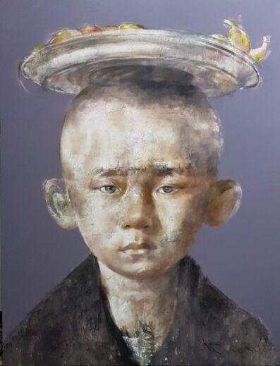 Silawit Poolsawat, 'The little boy with fruit platter', 2019