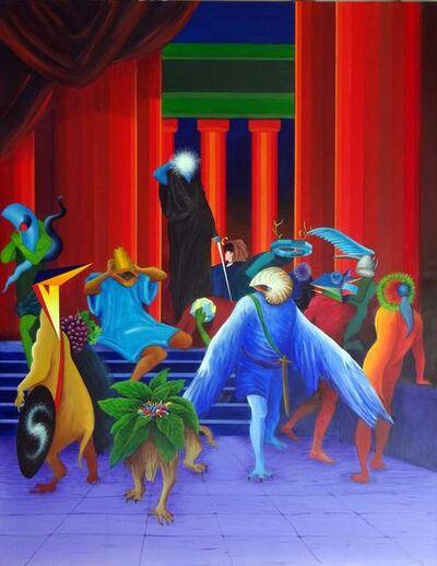 Antonio Peticov, 'Os Amigos de Ulisses'