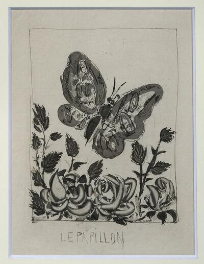 Pablo Picasso, 'Le Papillon', 1936-1942