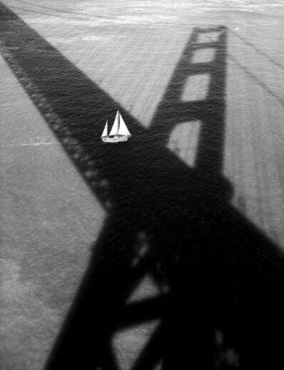 Stu Levy, 'Golden Gate Bridge #176 (Sailboat and Shadow)', 1994