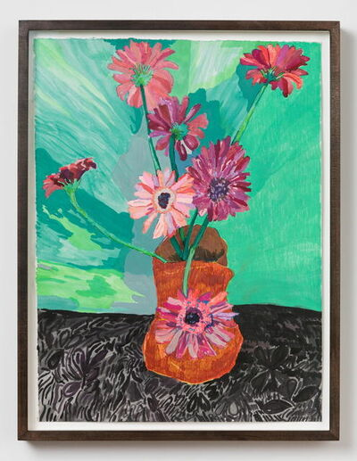 Alex Chaves, 'flower still life', 2017