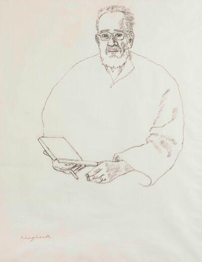 Konrad Klapheck, 'Ritratto di Arturo Schwarz', 1999