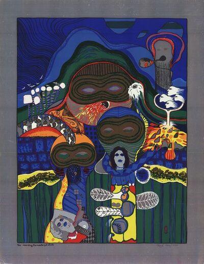 Helmut Kand, 'One Morning, the Masks Got Stuck', 1972