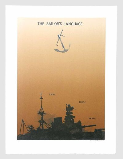 David Rathman, 'Sailor's Language', 2000