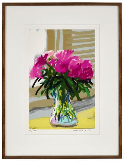 """David Hockney, '28th June 2009 """"No. 535""""', 2009"""