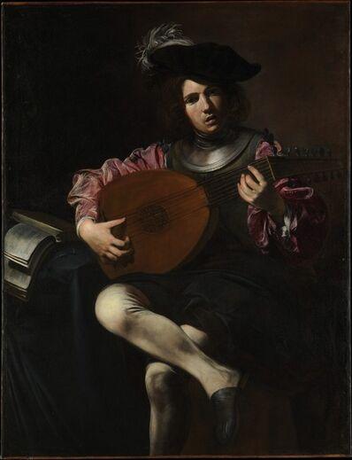 Valentin de Boulogne, 'Lute Player', ca. 1625–1626