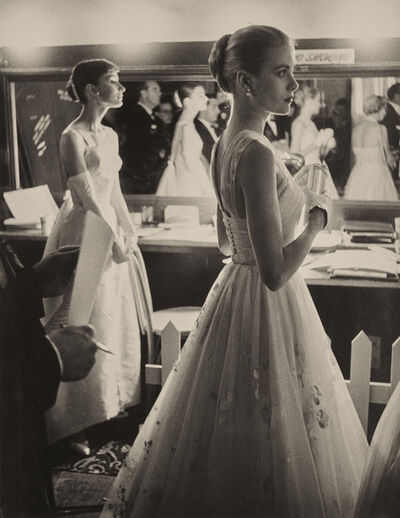 Allan Grant, 'Audrey Hepburn and Grace Kelly backstage at the 28th Annual Academy Awards, Hollywood, CA', 1956