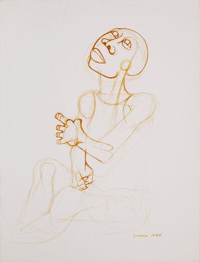 Dumile Feni, 'Untitled (figure)', 1985