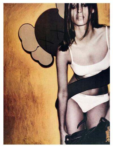 KAWS, 'KAWS Christy Turlington Tokion Poster', 1999