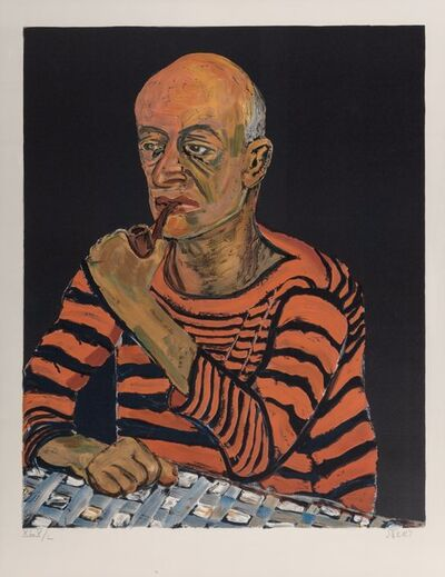 Alice Neel, 'Portrait of John Rothschild', 1980