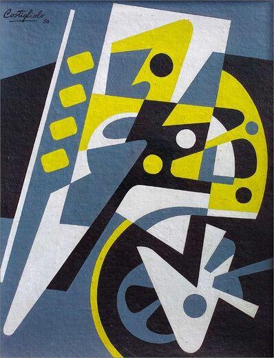 José Pedro Costigliolo, 'Composición Maquinística', 1950