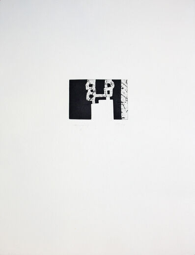 Eduardo Chillida, 'Bikoiztasun', 1996