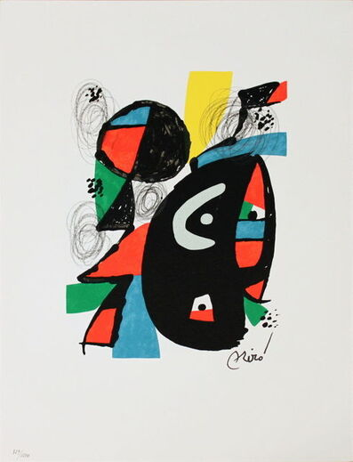 Joan Miró, 'Untitled (from La Melodie Acide XVI)', 1980