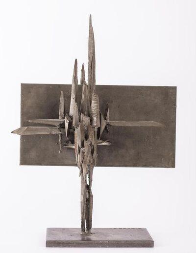 Agenore Fabbri, 'Crocifissione', 1962