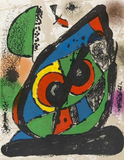 Joan Miró, 'Lithographies IV', 1982
