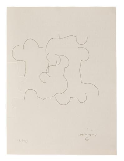 Eduardo Chillida, 'Emile M. Cioran: Ce maudit moi III', 1983