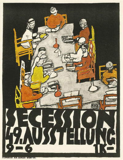 Egon Schiele, '49th Secession Exhibition Poster ', 1918