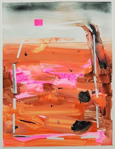 Russell Shoemaker, 'Untitled Gestural Abstract Composition', 2018