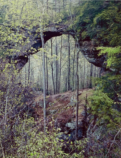 Eliot Porter, 'Gray's Arch, Red River Gorge, Kennedy', 1968