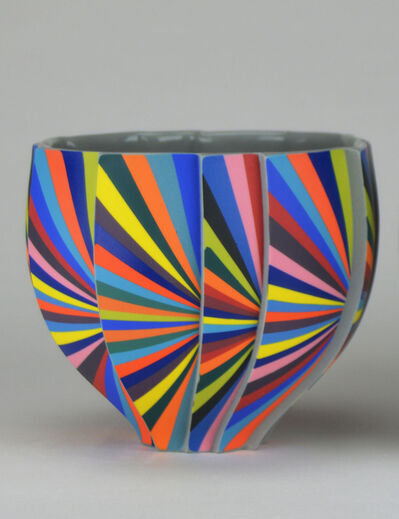 Peter Pincus, 'Pleated Bowl B', 2020
