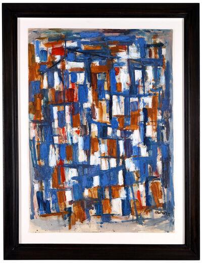 Leo Davy, 'Blue abstract', 1957