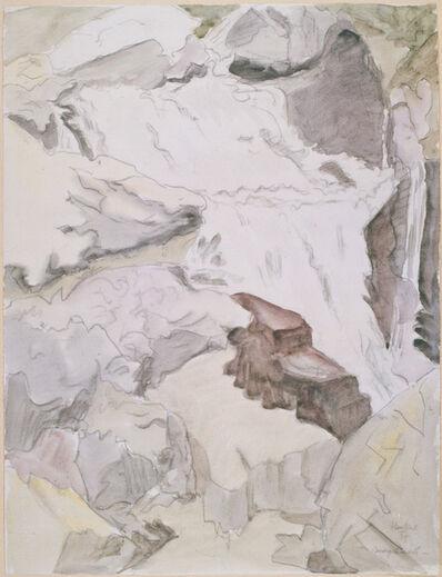 Erich Heckel, 'Bergbach ', 1957