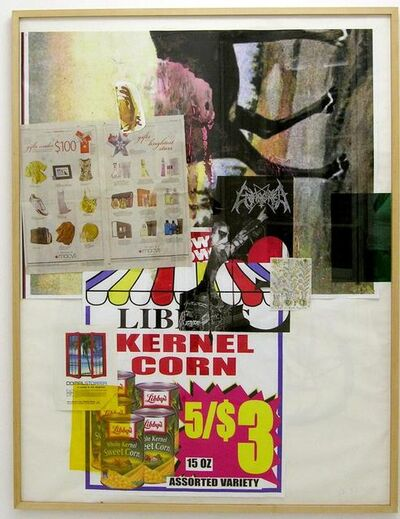 Albert Oehlen, 'UNTITLED (Kernel corn)', 2008