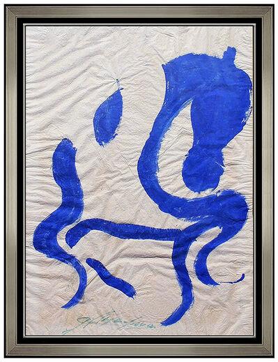 "Jesus ""Chucho"" Reyes Ferreira, 'Caballo Azul', 20th Century"