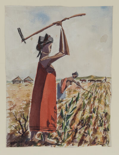 Durant Sihlali, 'Xhosa Women in the Field', 1960