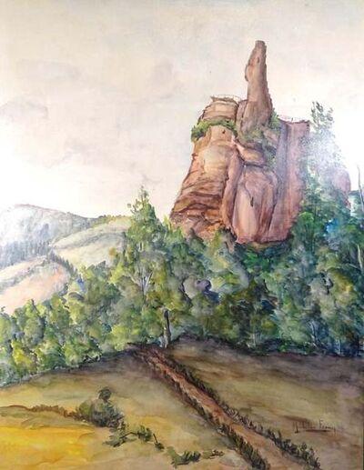 Micheline Frouin, 'Paysage d'Alsace', Mid 1900