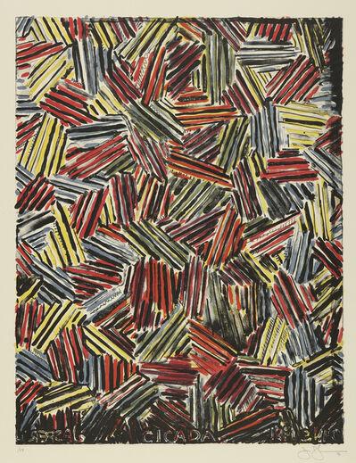 Jasper Johns, 'Cicada (ULAE 213)', 1981
