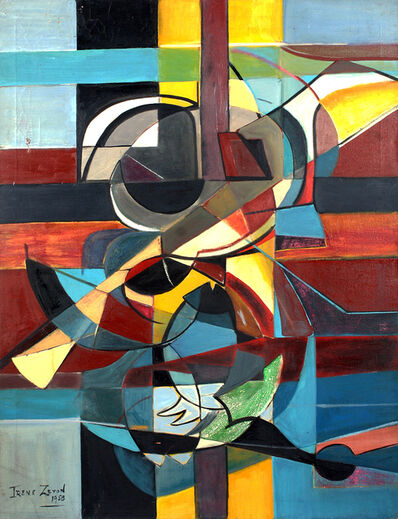 Irene Zevon, 'Centrifugal Composition', 1958