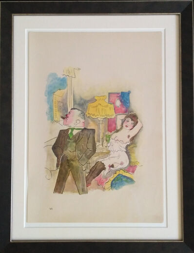 "George Grosz, '""Kraft und Anmut"" ( Strength and Grace )', 1922"