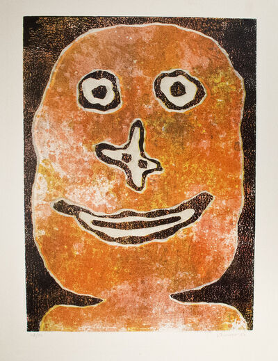Jean Dubuffet, 'Sourire', 1962