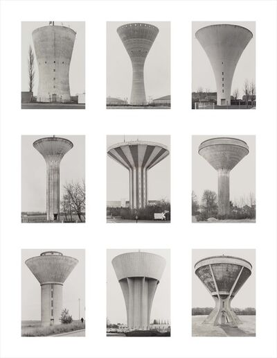 Bernd and Hilla Becher, 'Water Towers', 1972-2009