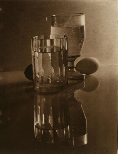 Josef Sudek, 'Glasses and Eggs', 1951