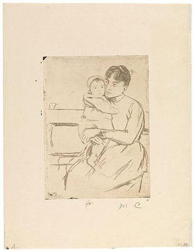 Mary Cassatt, 'On the Bench', ca. 1889