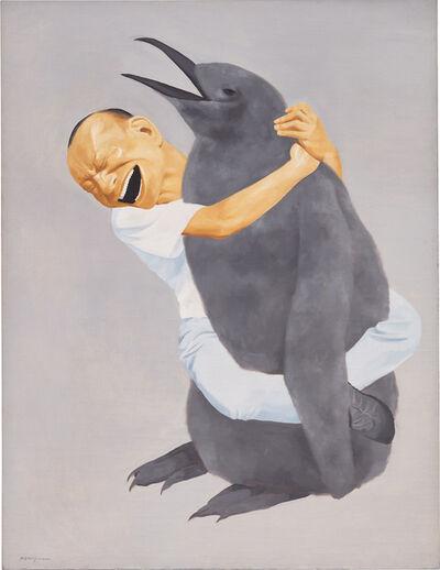 Yue Minjun, 'Penguin', 2000