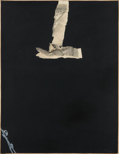 Antoni Tapies, 'Collage noir (Black Collage)', 1966