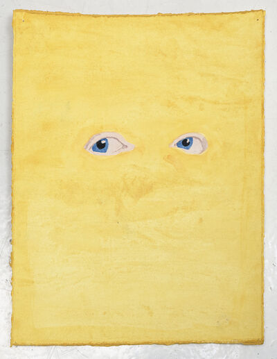 James Rielly, 'Yellow eyes', 2020