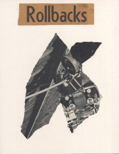 "George Herms, 'Sepia Jones (""Rollbacks"")', 2003"
