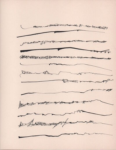 Mirtha Dermisache, 'Untitled (Text or Fragment of a Letter)', 1970
