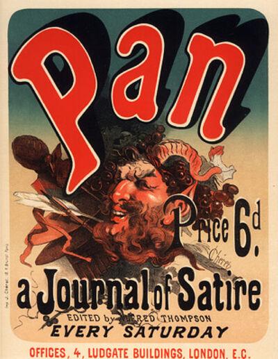 Jules Chéret, 'Pan', 1895-1900